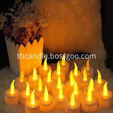 LED tea lights candles