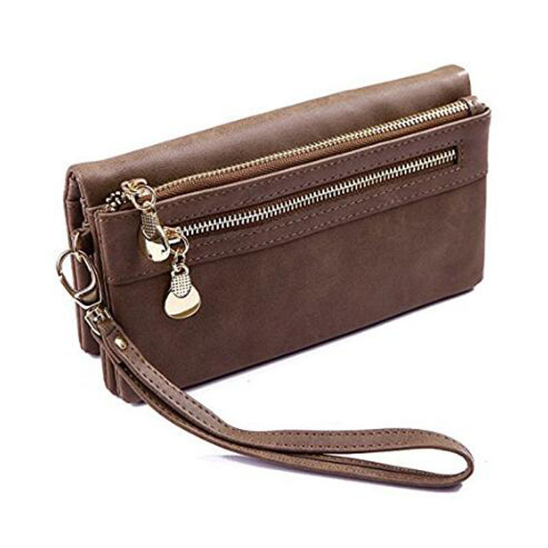 Brown Women's Leather Wallet