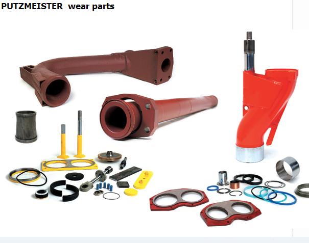 concrete pump putzmeister parts