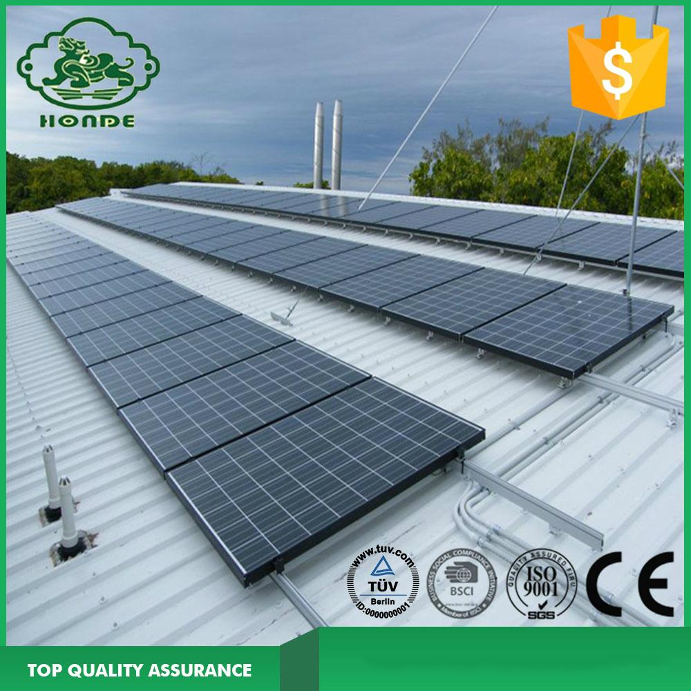 Solar Panels Brackets For Flat Roof