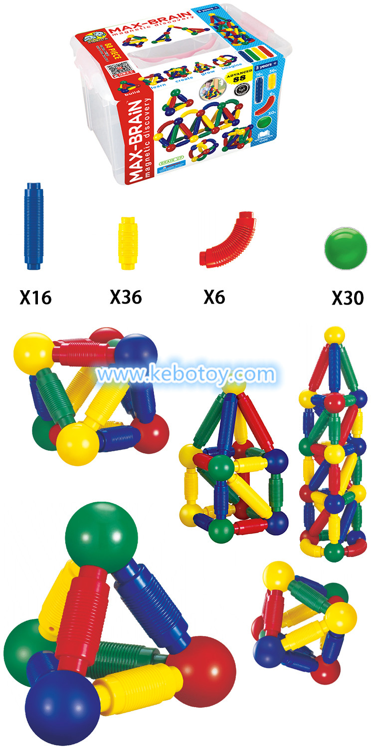 KBW-88 magnetic sticks and balls toys