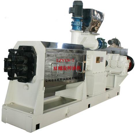 double screw cold oil press