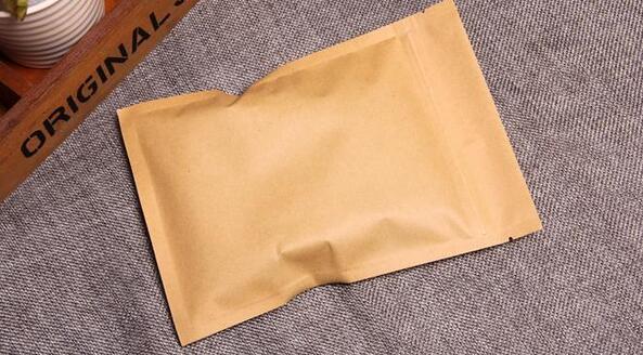 Zip lock flat bag