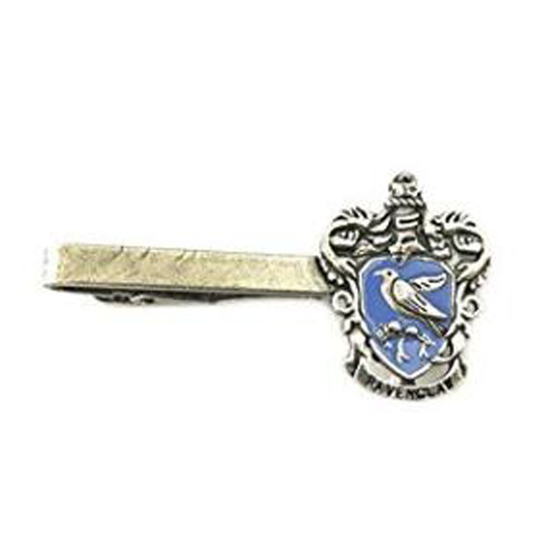 Harry Potter Ravenclaw Crest Silver Tone Tie Bar