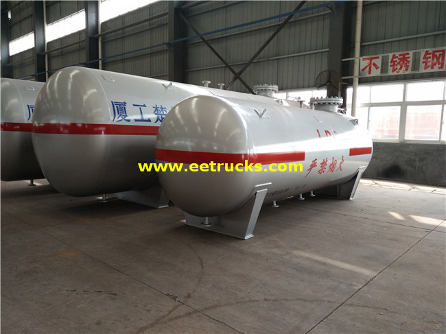 Horizontal ASME Propane Tanks