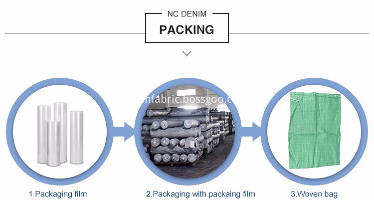 denim fabric packing2