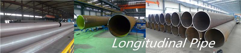 Steel Round Longitudinal Welded Pipe