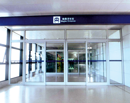 Automatic Slidng Doors for Airports