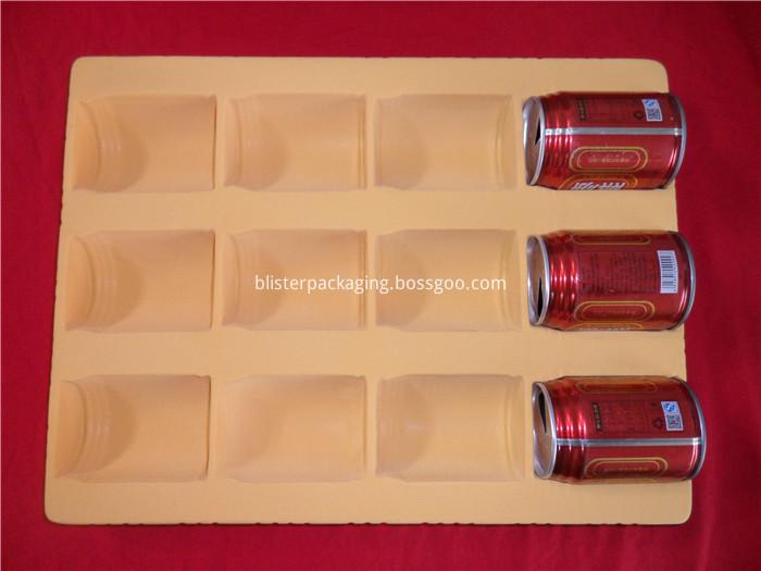 flocking packaging for beverage