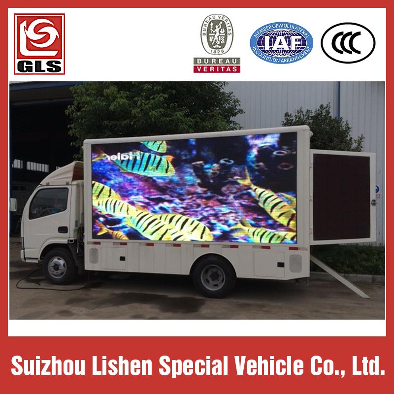 led adverstising truck