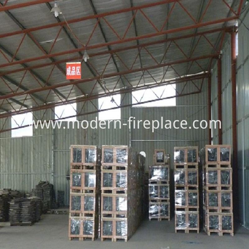 Finished Wood Burning Stoves Factory
