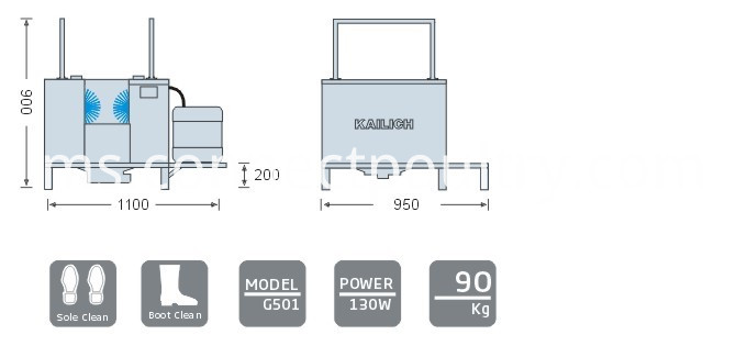 boot washer specification