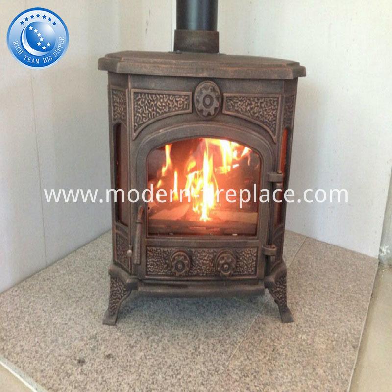 Cast Iron Wood Burning Stoves Wooden Case