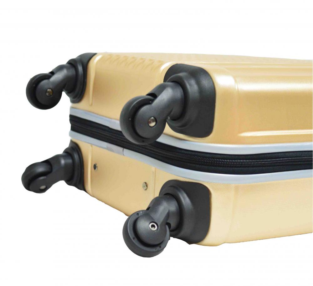 Eco-friendly PET Luggage Set with Airplane Wheels