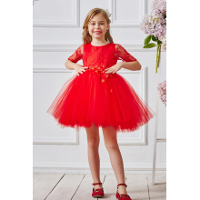 A-Line/Princes Tulle Short/Mini Flower Baby Girl Dresses