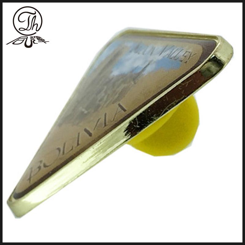 Triangle Metal Pin
