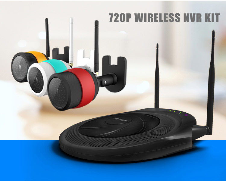 4CH IP Camera NVR Kit