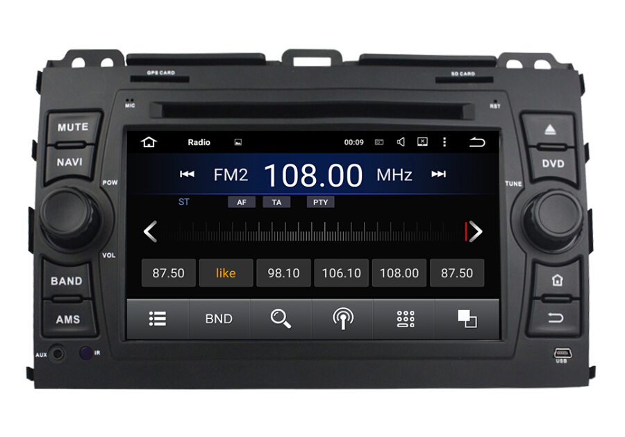Toyota car dvd player for Prado