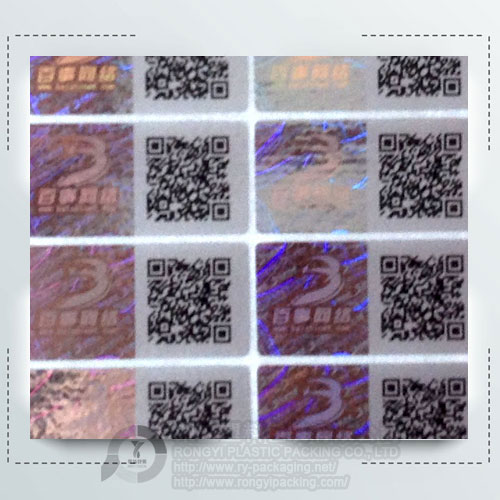 Laser Plastic Labels for Plastic Products