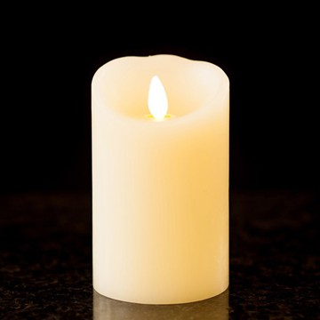 luminary flickering flameless candle