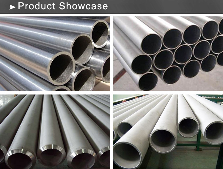 ss seamless pipe showcase
