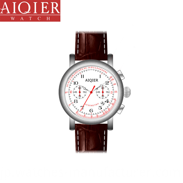 classic chronograph watch