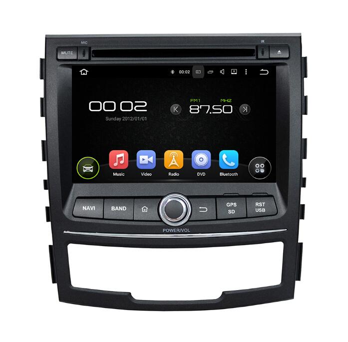 7 inch SsangYong Korando Car Audio Gps