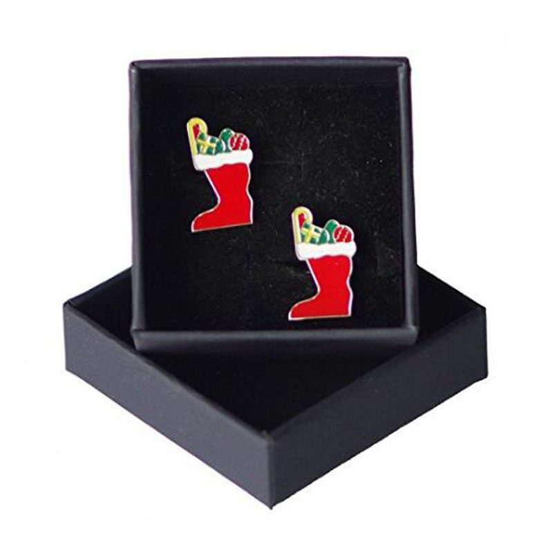 Stockings Cuff Links With Box