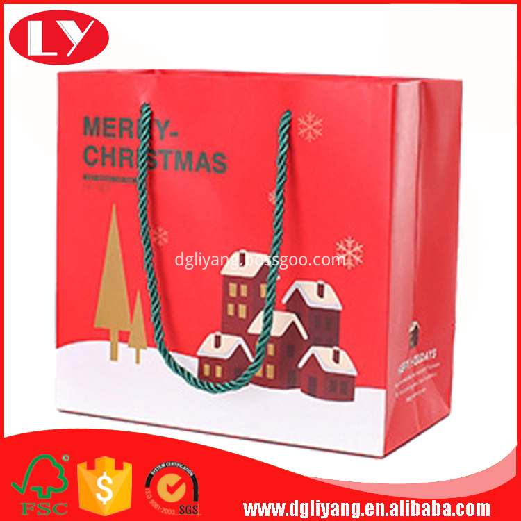 Christmas paper gift bags LY2017042607-125