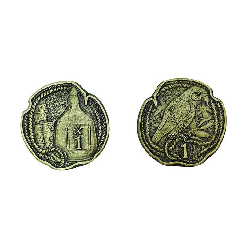 Pirate Variety Metal Adventure Coins