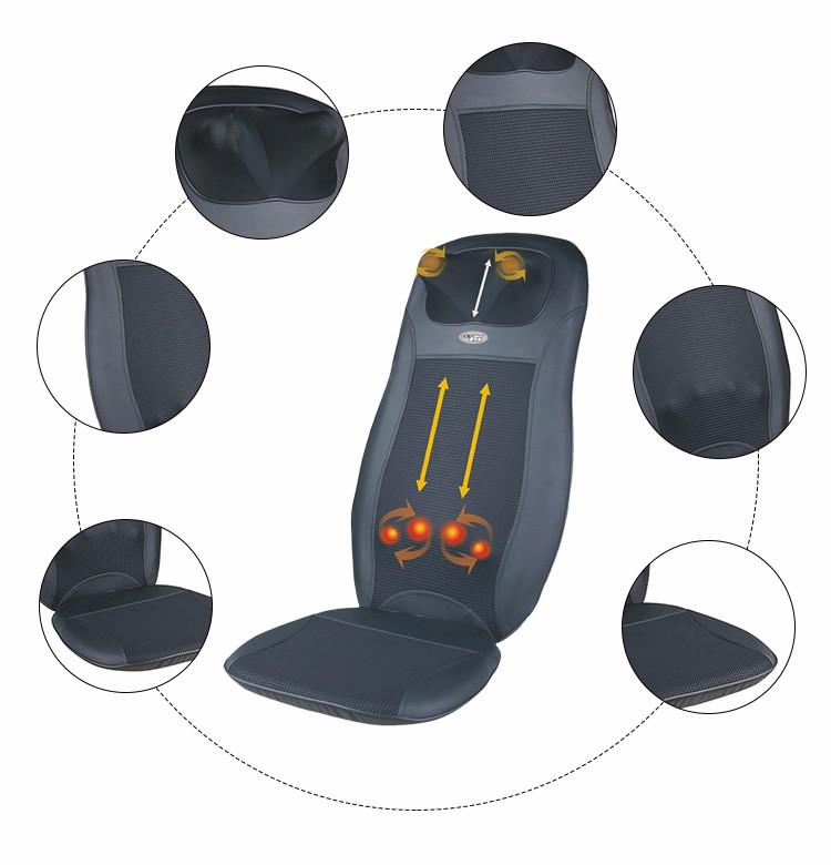 2017 Car Foldable Shiatsu Massage Cushion