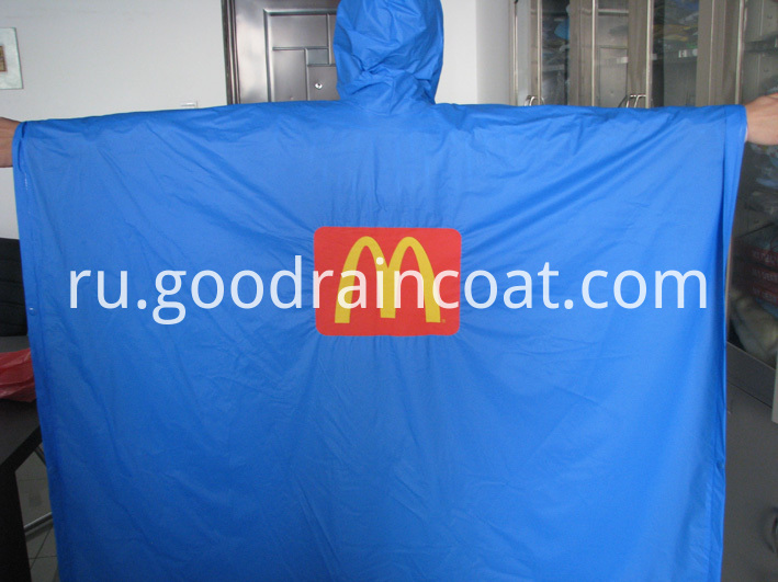 PVC rain poncho for M