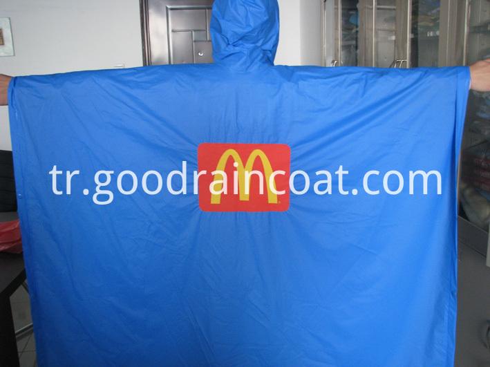 PVC rain poncho for M