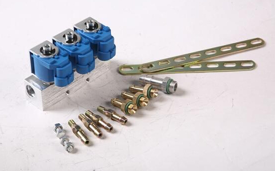 cng injector rail