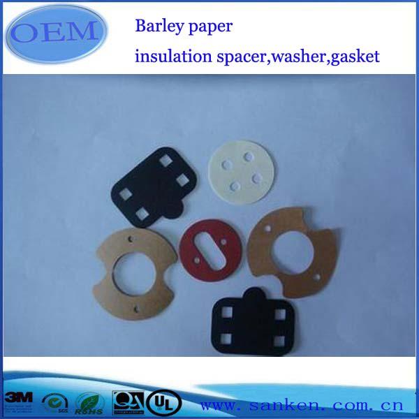 Barley paper insulation spacer,washer,gasket