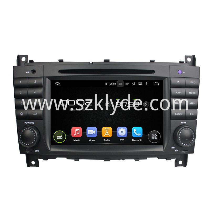 Benz w203 android 7.1 car audio (1)