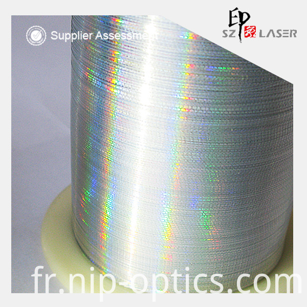 Holographic Mylar Yarn