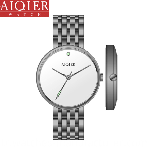 White Watch For Woman