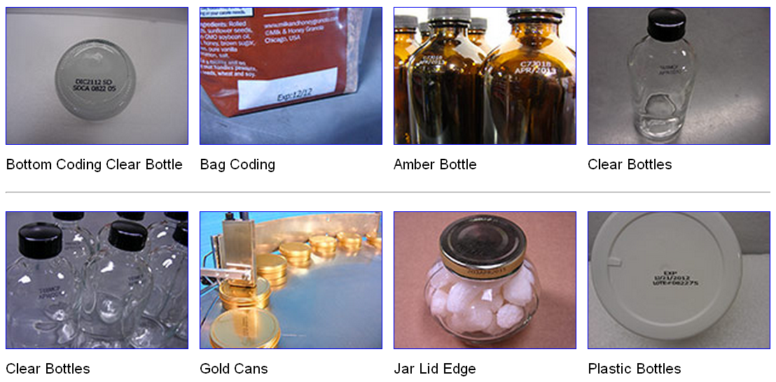 Bottom Coding Amber Bottle sample