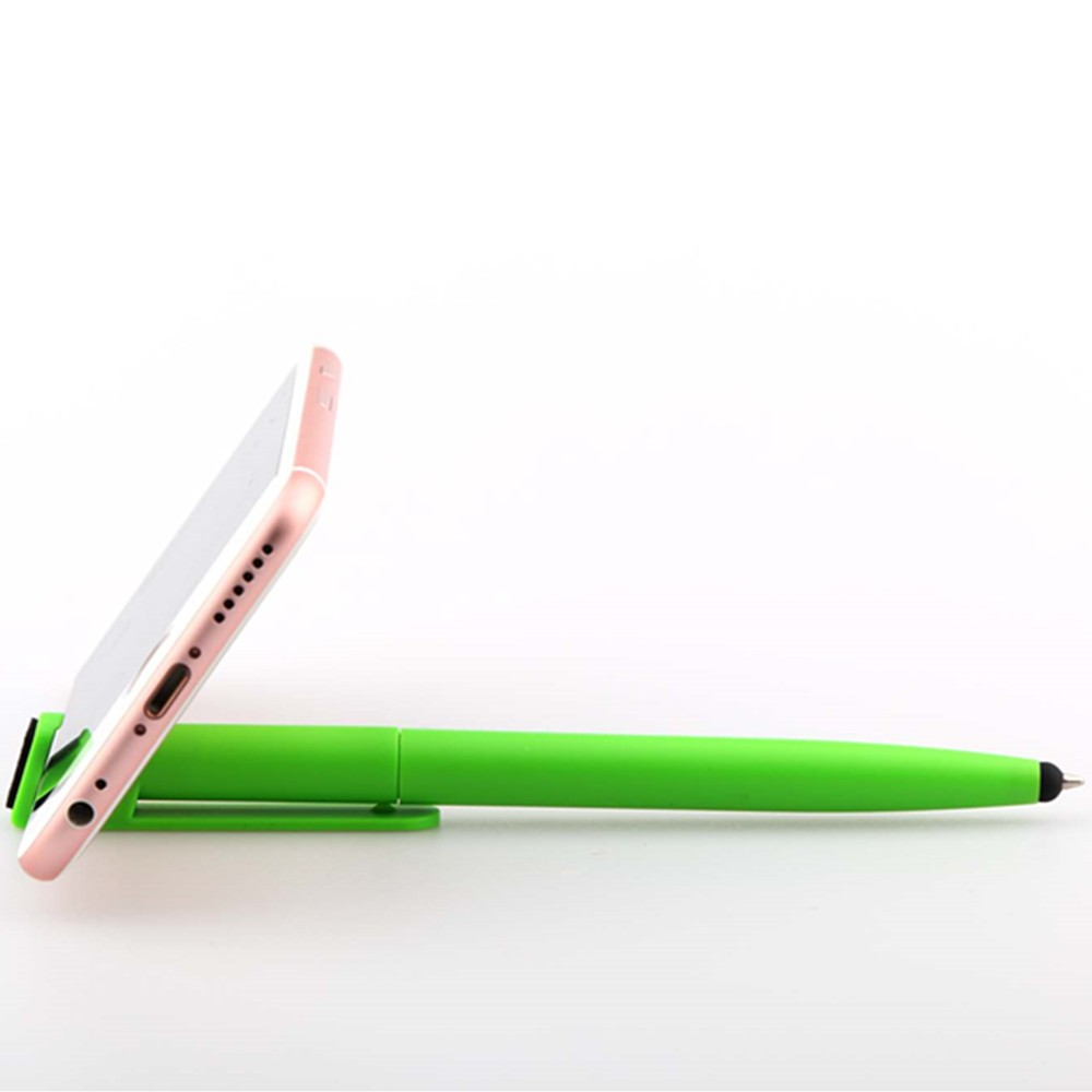 Promotional Mobile Phone Stand Stylus Pen with screen cleaner