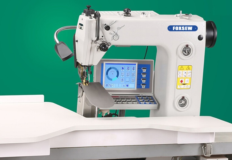 Programmed Automatic Sleeve Setting Sewing Machine FOXSEW FX-560A