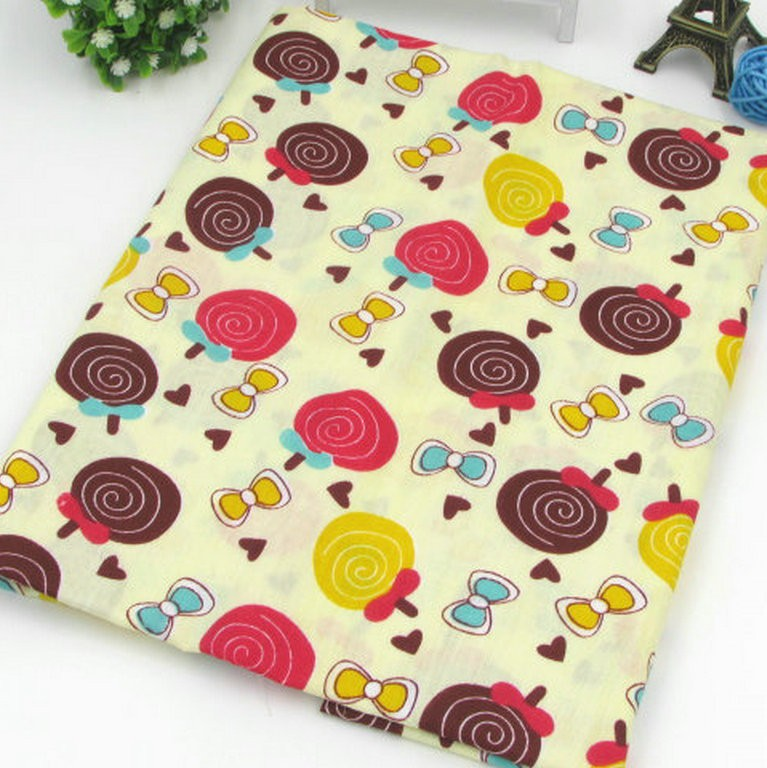 polyester cotton printed fabric