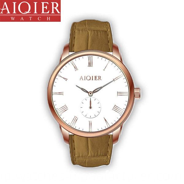 stainless steel quartz men classic watch