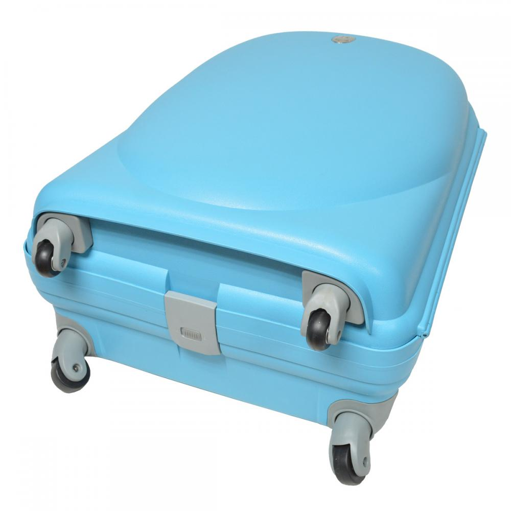 Scratch Proof PP Trolley Luggage with Aluminum Tube