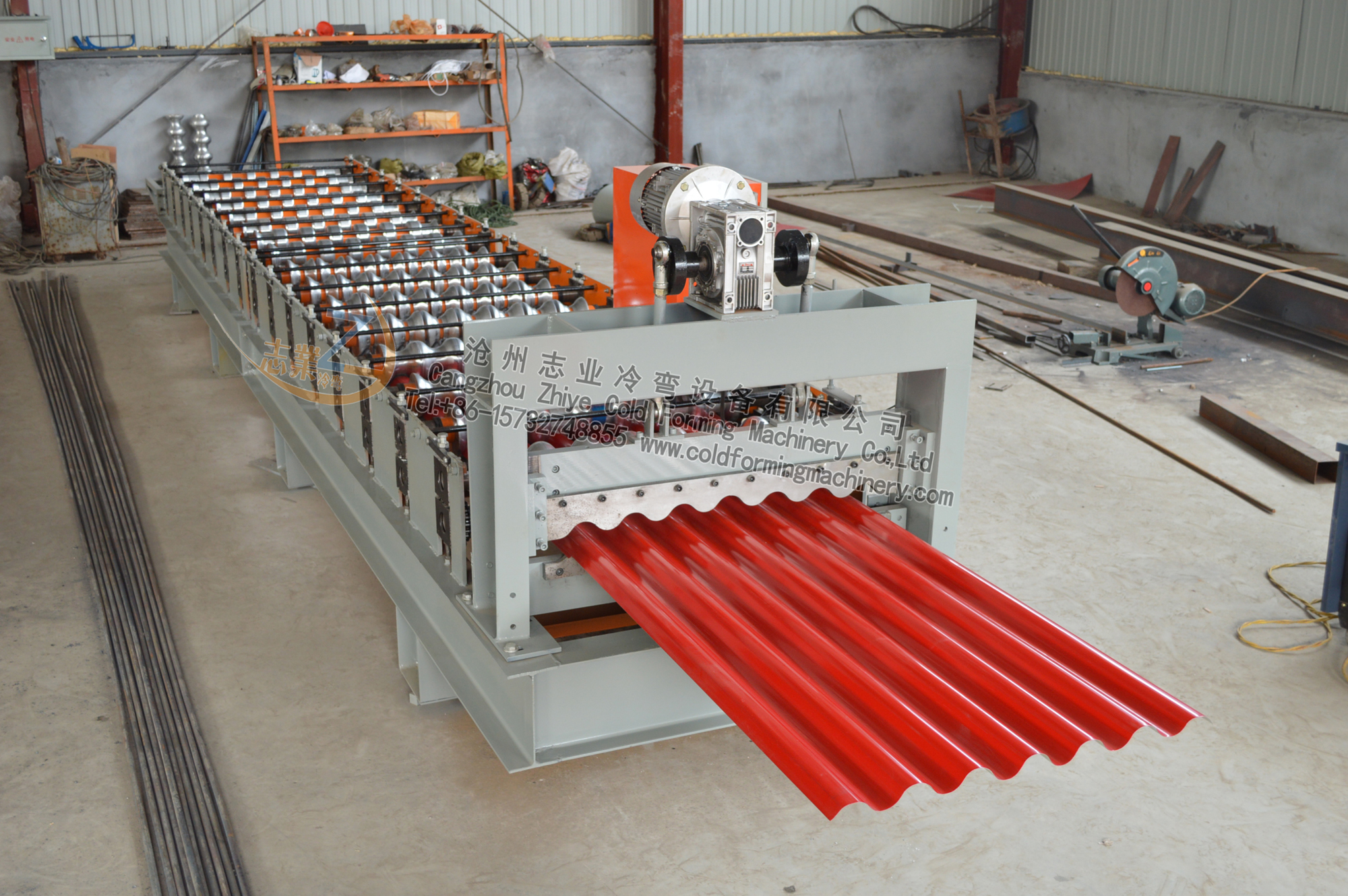 780 corrugated machine