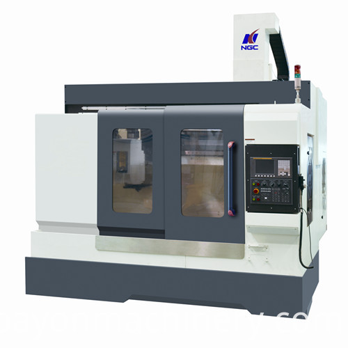 Milling Machines With High Speed Spindle