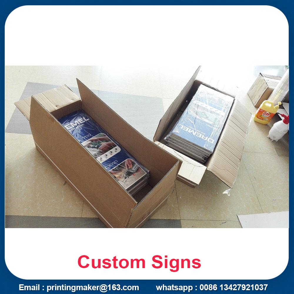 rigid sign board printing