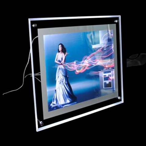 crystal led light box