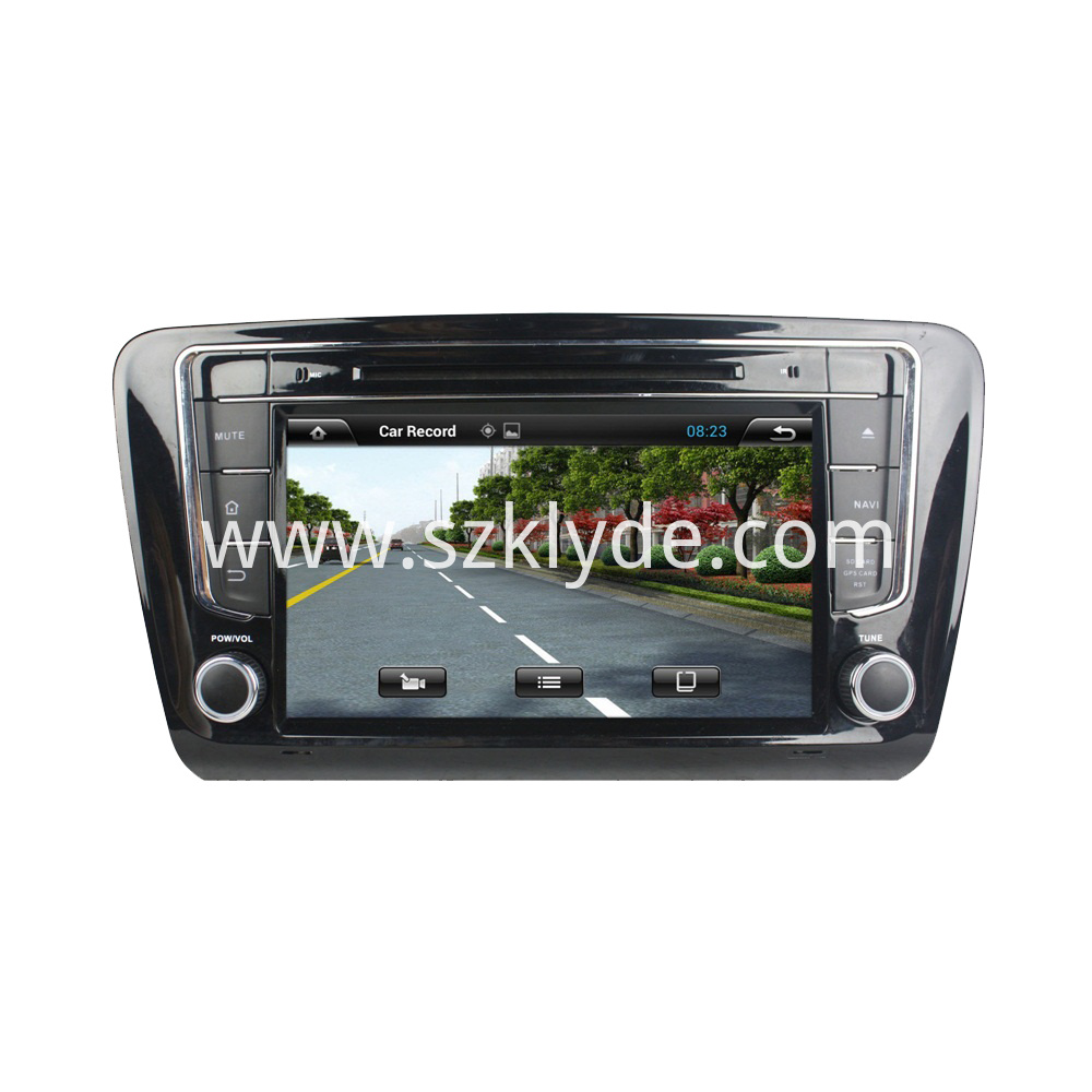 Android car DVD for Skoda Octavia