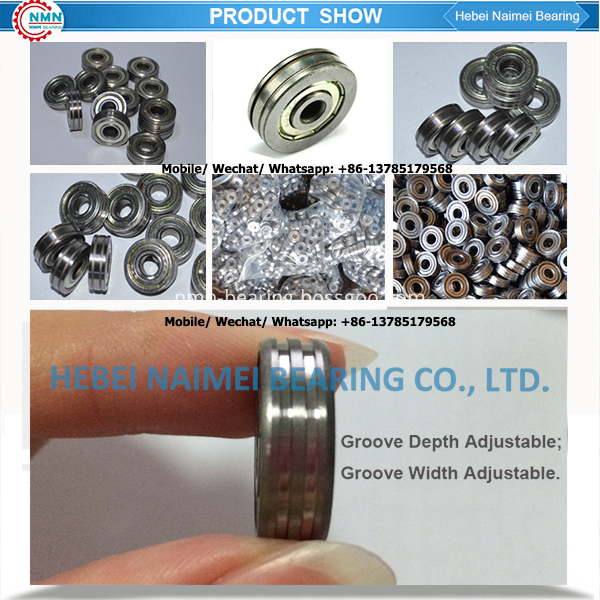 grooved bearing